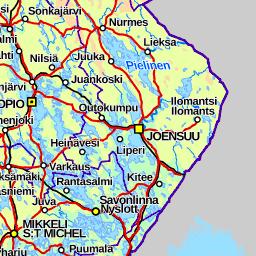 Välimatkat Suomi